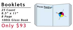 Online Booklet Printing Special