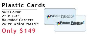 Online Plastic Card Printing Services