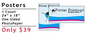 Online Poster Printing Specials