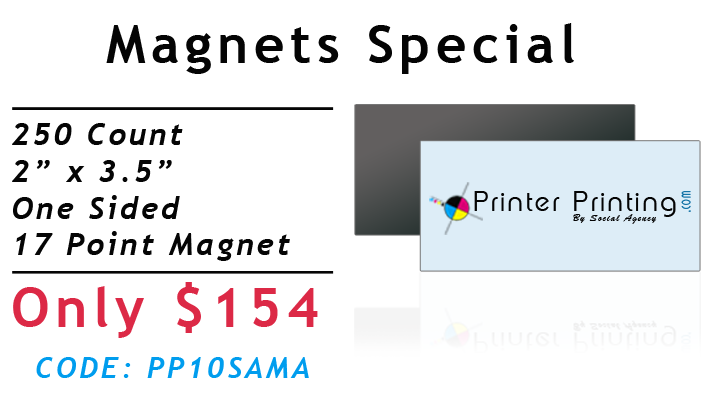 Magnet Printing Special